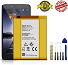 for Cricket ZTE Blade X Max Z983 Replacement Battery Li3934T44P8H876744 Adhesive Tool