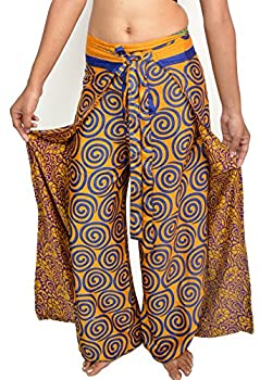 Wevez Women s Pack of 5 Thai Fisherman Pants One Size Assorted