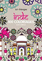 Inde - 100 coloriages anti-stress d'Emilie RAMON