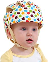 Eyourhappy Infant Baby Toddler Safety Helmet Headguard Hat Adjustable Safety Protective Harnesses Cap (Multicolor)