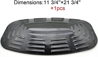 The Red BBQ Universal 97331 Porcelain Steel Heat Plate /Heat Shield Replacement for Select BBQ gas Grill Uniflame Gas Grill Models and Uniflame Gas Grill model 730 GBC920w1 GBC1128W  (21 3/4