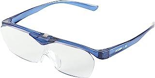 ホーザン(HOZAN) メガネルーペ 倍率1.6倍 ハッキリとした広い視野 L-92 メガネの上から装着可能