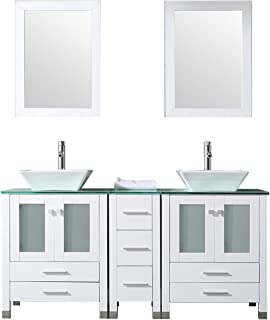 Best double sink vanity with 2 mirrors Reviews