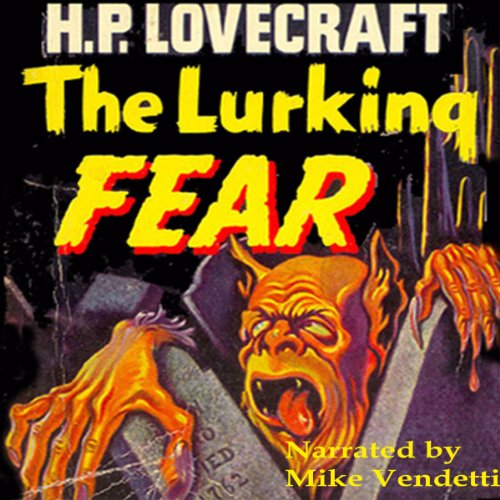 The Lurking Fear audiobook cover art