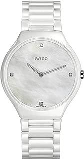 Rado Women's Silver Dial Color Ceramic Band Watch - R27957902
