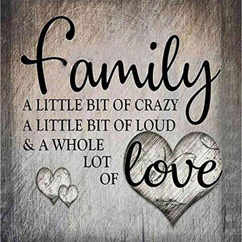Love Family DIY 5D Full Drill Diamond Painting Embroidery Cross Stitch Crystal