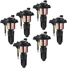 A-Premium Ignition Coils Pack for Chevrolet Trailblazer GMC Envoy 2002-2005 Buick Rainier Isuzu Ascender Oldsmobile Bravada 9-7x 6-PC Set