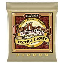 Ernie Ball Earthwood EB2006 010-050 · Saiten Westerngitarre