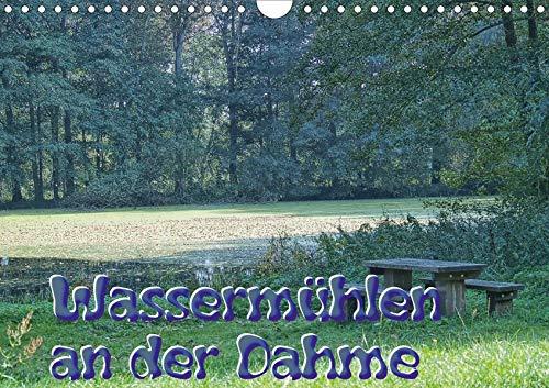 Wassermühlen an der Dahme (Wandkalender 2020 DIN A4 quer): Die Dahme, da wo sie noch ganz klein ist und die Reste der einst 15 stolzen Mühlen. Ein ... (Monatskalender, 14 Seiten ) (CALVENDO Natur)