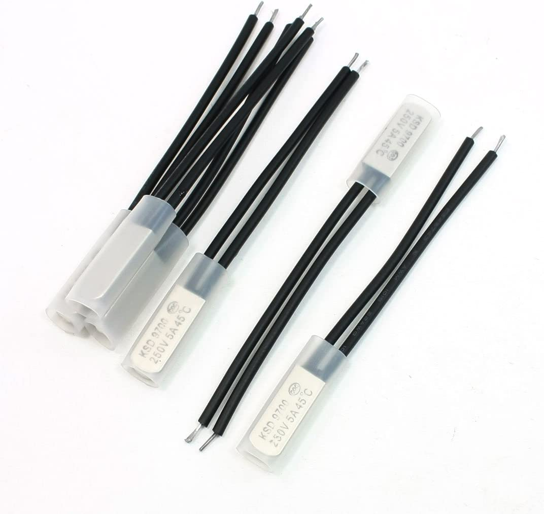 uxcell New item Nippon regular agency 45C Bimetal Temperature Thermal Protect Sensor Controller