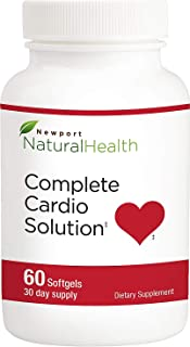 Newport Natural Health Complete Cardio Solution 60 Softgels (30-Day Supply)