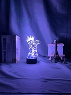 Stijlvolle 3D Nachtlampje Anime Gon Freecss Figuur Led Batterij Aangedreven Nachtlampje voor Kind Slaapkamer Decor 3D Lamp...