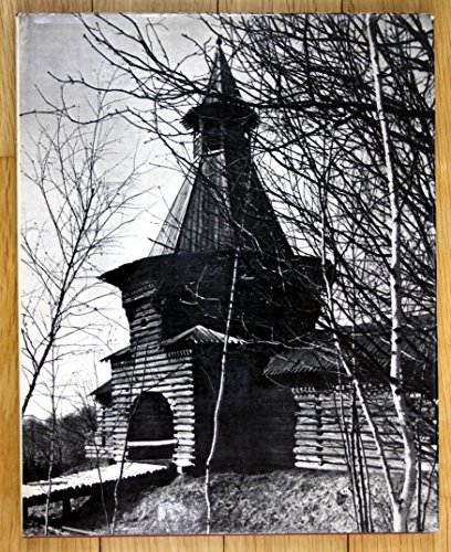 Russkoe Dereviannoe Zodchestvo [Russian Wooden Architecture - Russische Holz-Architektur]. (Text in russian language with an english chapter and also englisch titles for the plates)