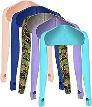 Yoohh Anti-UV Koeling Sjaal Arm Sleeve Zonbescherming, Voorkom Looien, 5 Stks Koeling Sjaal Armmouwen met Vinger Hole Vrou...