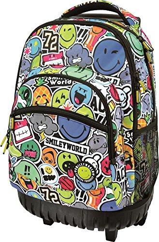 Smileyworld.-Mochilas Carro Fijo Smiley World Fruit Multicolor, Sac à Dos Multicolor