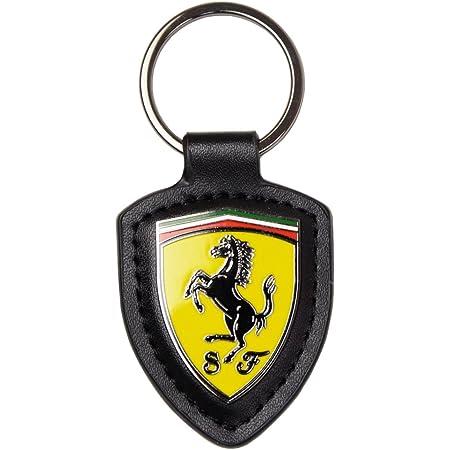 Scuderia Ferrari Llavero Scudetto Cuero