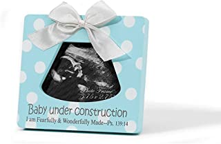 Dicksons Baby Under Construction Photo Frame, Blue