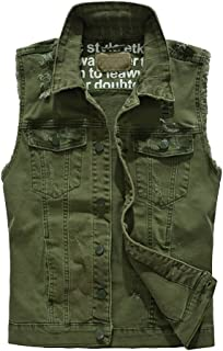 Mens Outdoor Gilet Multi Pocket Reporter Photography Vest Concealed Carry Feast Clothing Waistcoat Casual Vest Sleeveless Jacket Color : P08De Khaki, Size : L