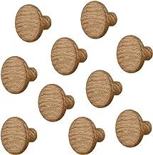Gedotec Meubelknop houten lade-knop eiken voor kastdeuren & meubels - FRANK   kastknop keuken met Ø 32 mm   deurknop natur...
