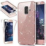 HMTECH Galaxy A5 2018 Case Glitter Bling Luxury Crystal 2