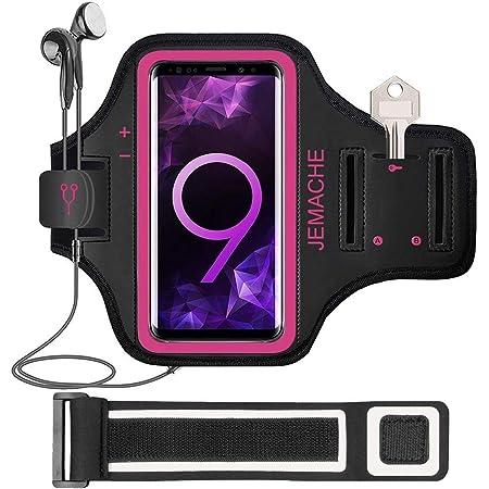 Amazon Com Jemache Brazalete Para Samsung Galaxy S20 Plus S10 Plus S9 Plus S8 Plus Con Funda Para Llavero Color Rosa