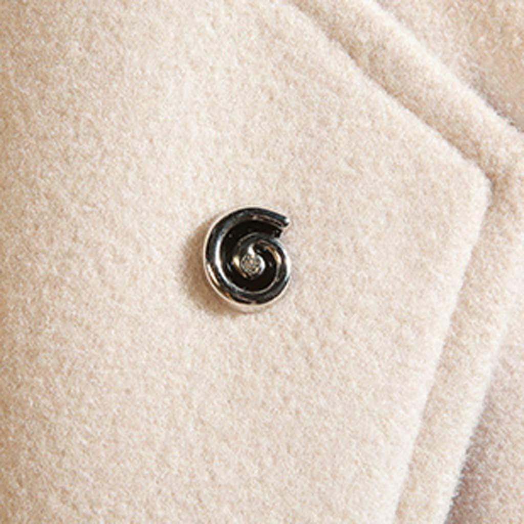 Men's Trenchcoat Winter Warm Casual Windproof Jacket Coat Outwear