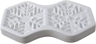 Best snowflake glass mold Reviews