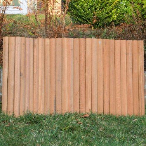 ROG garden-line 180 x 60 cm : BANGKIRAI ROLLBOARDER HARTHOLZ BEETUMRANDUNG RASENKANTE = 24,97 EUR/m