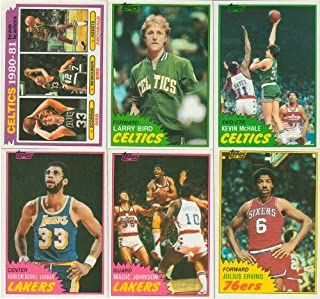 50f5a6a5d3 1981   1982 Topps Basketball Series Complete NM MT Hand Collated 198 Card  Set