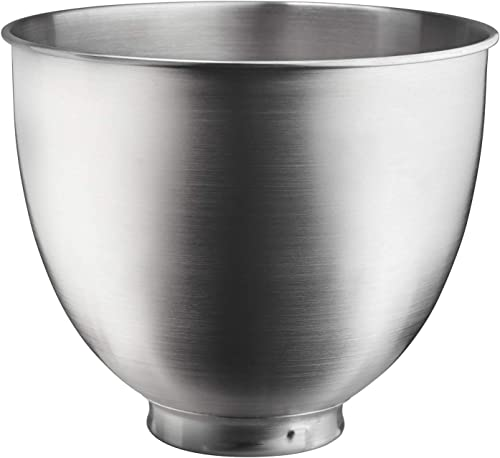 discount KitchenAid lowest high quality 3.5-Qt. Brushed Bowl-Stainless Steel, Quart, Metallic online