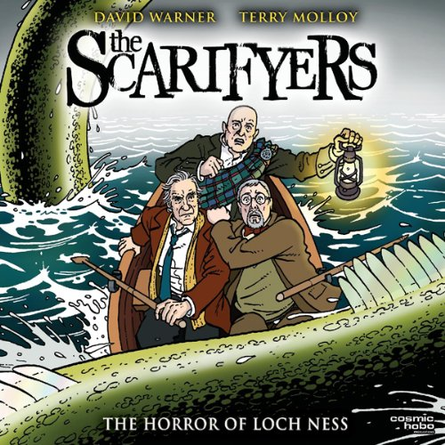 『The Scarifyers: The Horror of Loch Ness』のカバーアート