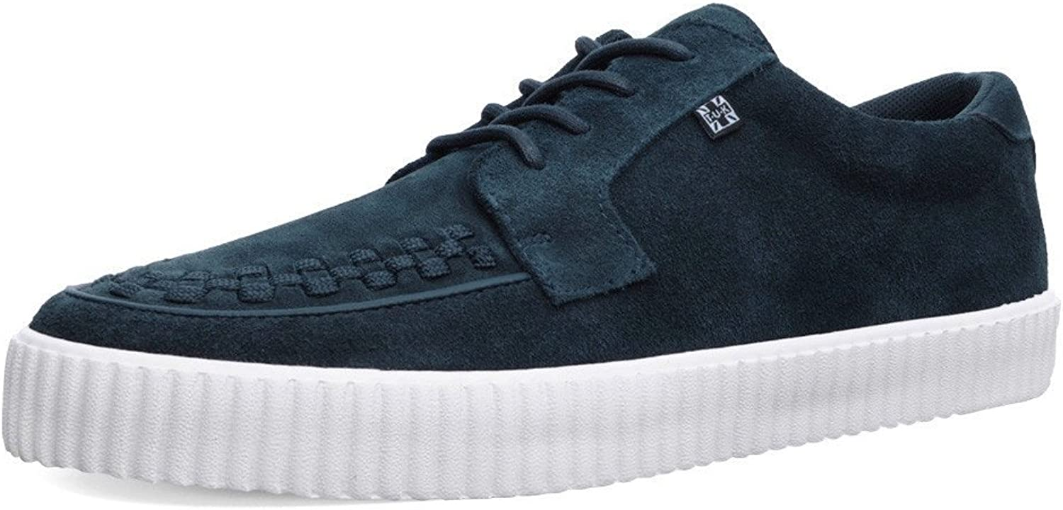 T.U.K. shoes A9256 Unisex-Adult Creepers, Navy Suede EZC shoes