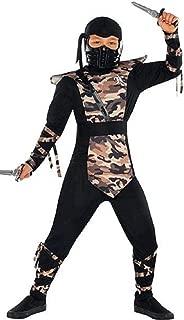 amscan Boys Combat Ninja Costume - Small (4-6)