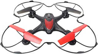 Evaxo Nebula Drone with HD Camera Loaded with a HD FPV Real Time Live Video Feed Camera Take pics and Videos and Easily Share with Friends Black & Red