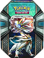 UNLEASH THE POWER OF SOLGALEO – This Pokemon is said to live in another world. The intense light it radiates from the surface of its body can make the darkest of nights light up like midday. BUILD UP YOUR POKEDEX – Add this dual-type Psychic/Steel Le...