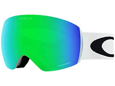 Oakley Flight Deck Large (Matte White/Prizm Jade) Snow Goggles