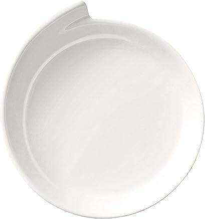 Preisvergleich für Villeroy & Boch NewWave Präsentationsteller, 30 cm, Premium Porzellan, Weiß