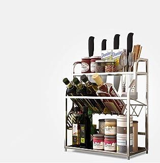 Rangement Cuisine, Crochets De Suspension Inoxidables Suspendus Du Support 304 D'ustensile Fixé Au Mur Pour Le Stockage/L'...