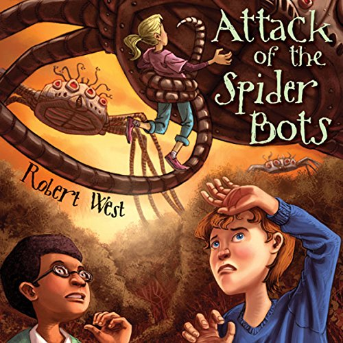 Attack of the Spider Bots Titelbild