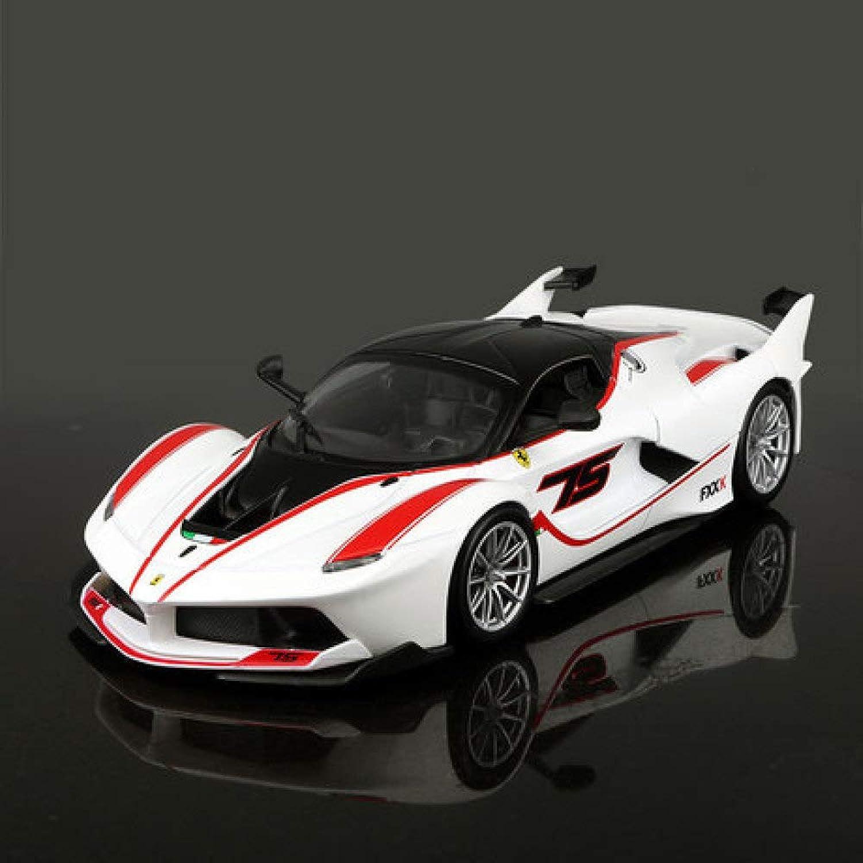 El ultimo 2018 GFLD 1 24 Modelo de Coche Ferrari Ferrari Ferrari Fxxk Aleación de Simulación Modelo de Coche Deportivo Modelo Regalo Decoració  servicio considerado