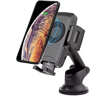 Wireless Car Charger Mount- Simple Fast, Car Charging Holder - Compatible iPhone, PRO/PRO MAX/X/XS/XS MAX/XR/8/8 +, Samsung, S10/10 +/S9/S9 +/S8/S8 + by Mega ATRP
