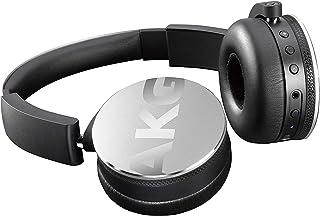 AKG Y50BT 立体声蓝牙耳机 重低音 耳机头戴式 无线手机耳机 HIFI音乐耳机 超长待机 银色