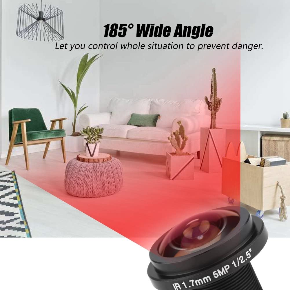 Richer R 21.21mm CCTV Objektiv, 21MP IP Kamera Objektiv Lens ...