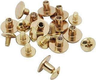 100 St/ück Nagelkn/öpfe Metall 11 x 13 mm rund
