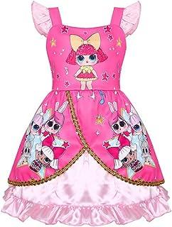 Moda Influencer Abbigliamento LOL Bambina Costume da Bagno Bikini Rosa Principessa