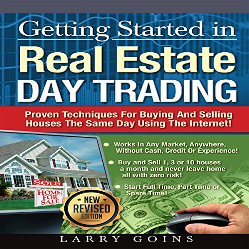 Getting Started in Real Estate Day Trading audiobook cover art