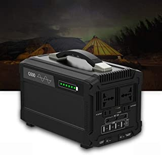 SOAR Generador Portátil Generador Inverter Generador portátil Power Station 500W 120AH Estación de energía al Aire Libre Portátil Portátil Generador Solar portátil
