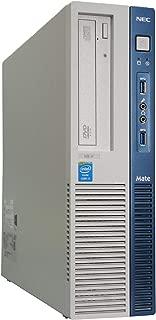 中古パソコン Windows10 デスクトップ 一年保証 NEC MK34LB-H Core i3 4130 3.4GHz MEM:4GB HDD:250GB DVD-ROM 2画面対応 …
