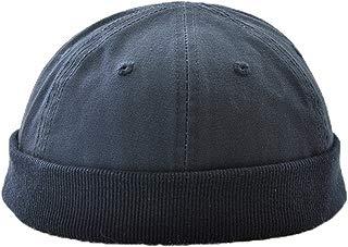 Ez-sofei Retro Rolled Cuff Skull Caps Brimless Beanie Hats for Men/Women
