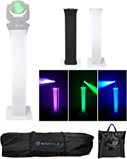 (1) Totem Light Stand w/Black+White Scrims For Marq Gesture Beam 400